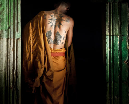Cambodia Naga Buddha (ALVA004)