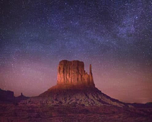 Monument Valley Milky Way-5