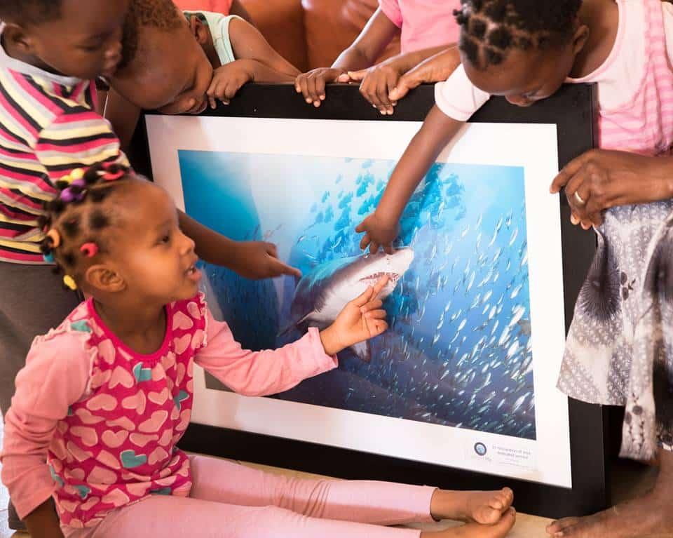 Neema Village Receives WorldPix Artwork and Donation