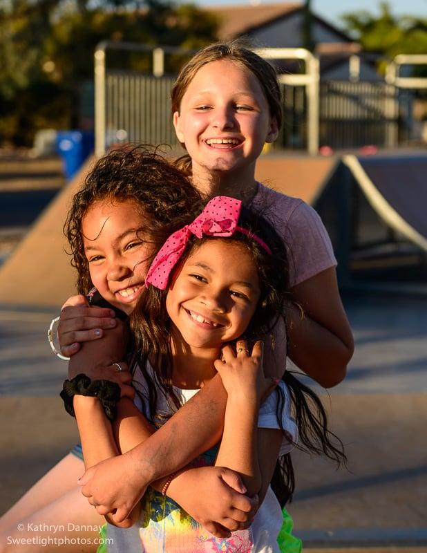 Children on the playground
