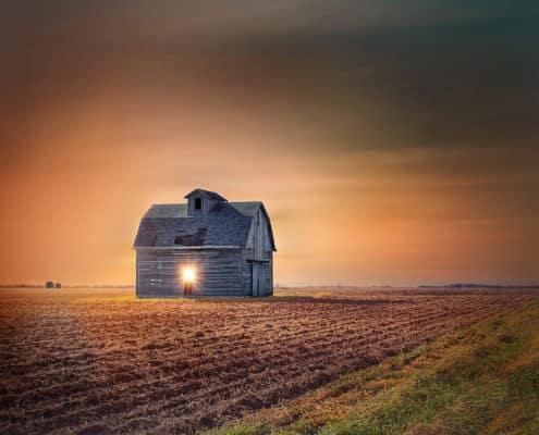 (ToHB003)Countryside Sun Flare